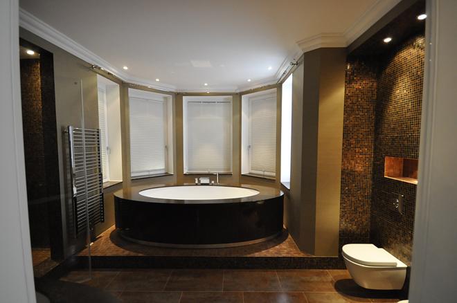 Badezimmer -Fliesen